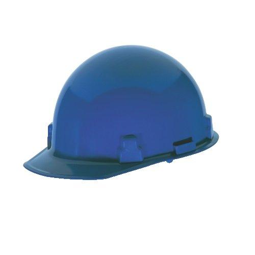 ハード帽子、FrtBrim、Slotted、Rtcht、ブルー B016MWKOGE