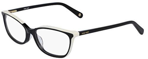 (Eyeglasses NINE WEST NW 5161 001 BLACK-CREAM )