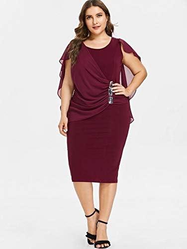 Amazon Com Vestidos Tallas Grandes Mas El Tamano De Las Mujeres Ropa De Moda Para Gorditas Xl Mujer Sexys Casuales Largos De Fiesta Elegantes Rojos Moderno L Clothing
