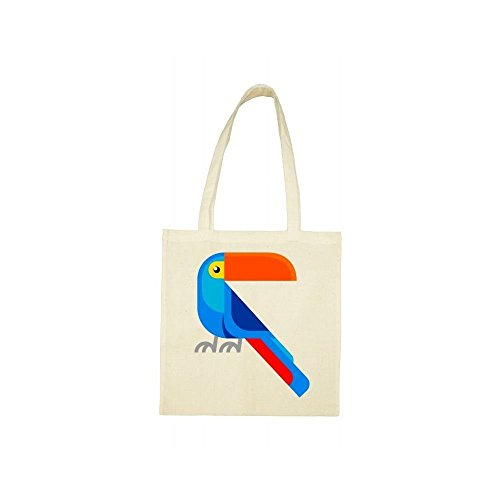 Tote toucan bag Tote beige bag xgnqpOwp
