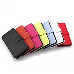Flip PU Wallet Leather Stand Case For Samsung Galaxy S5 I9600 --- Color:Pink