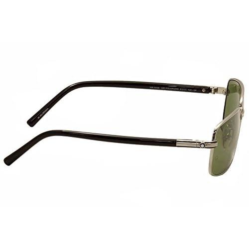 best polarised sunglasses zpwj  best Montblanc MB503S 16R Polarized Sunglasses, Palladium/Black, 61 mm