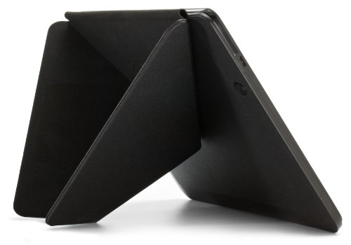 """Amazon Kindle Fire HDX 8.9"""" Standing Polyurethane Origami Case (will only fit Kindle Fire HDX 8.9""""), Mineral Black"""