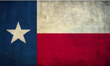 Vintage Texas Flag Vinyl Decals Stickers(TWO PACK!!!)Cars Trucks Vans Walls Laptops|Full Color|2-3 X 5 In ()