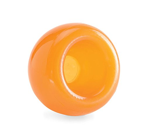 Planet Dog Orbee-Tuff Snoop Interactive Puzzle Dog Toy, Orange