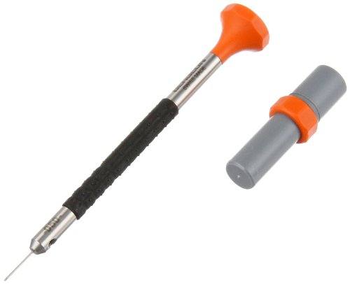 Bergeon 55-680 6899-AT-050 Stainless Steel Ergonomic 0.5mm Screwdriver with Spare Blades Watch Repair (Bergeon Driver)