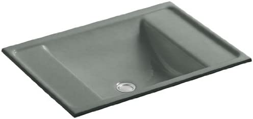 KOHLER K-2838-FT Ledges Undercounter Bathroom Sink, Basalt