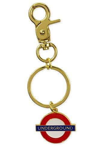 London Underground - Llavero de Oro con Clip (gwc): Amazon ...