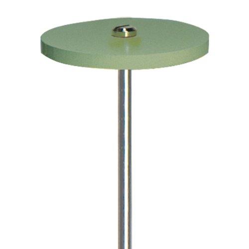 Dedeco 1101 Diamond Silicone/Porcelain (C) Wheel, 1''