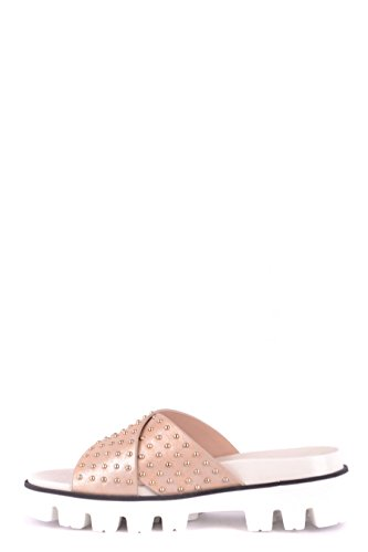 Pink Valentino Leather PQ2S0A21LHML01 Red Women's Sandals 6wqtwHgWd