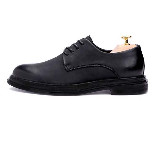 Casual Masculina Formales Ligera Puro Clásico Oxford Iwgr Negro Caballero Semi Suela Estilo Color Moda Zapatos gZwxnOqt