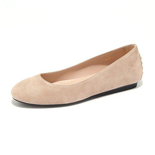 Tod's Scarpe Shoes Women Donna Ballerina 7988L Gomma RZwFxTqR4