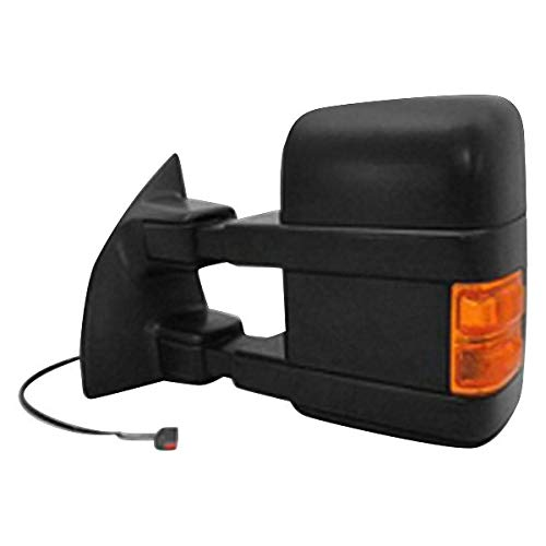 Replacement Left Mirror Heated In-housing Signal Light Driver Side LH Hand Fits Ford F-250