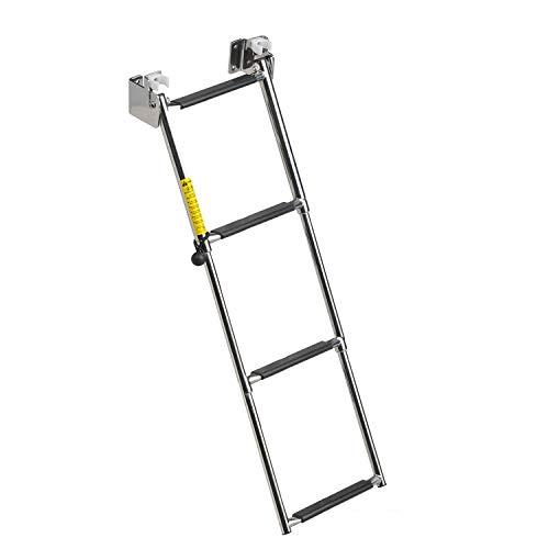 Ladder Motorhome (Garelick 19684:01 Ladder Telescoping 4 Step)