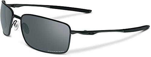 Oakley Square Wire Polarized Rectangular Sunglasses,Carbon,60 - Sunglasses Oakley Prescription Women