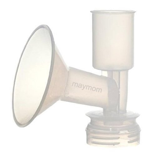(Maymom Breast Shield Flange for Ameda Breast Pumps (22 mm, Small, 1-Piece))
