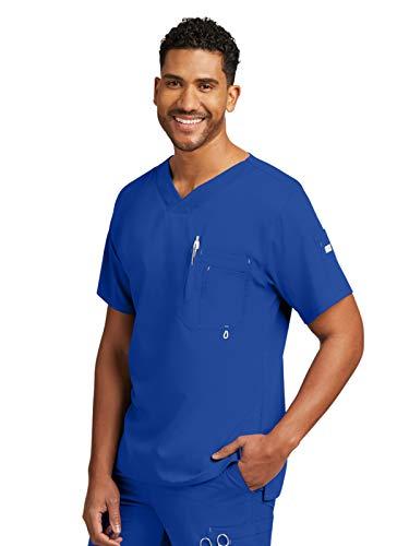 Grey's Anatomy 0107 Men's Modern Fit Top Galaxy XS