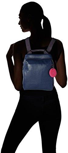 Bag Women's Duck Leather 20q Shoulder Mellow Mandarina Tracolla Blue eclipse Y7wdqx5