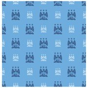 Manchester City Crest Wallpaper   One Size Only
