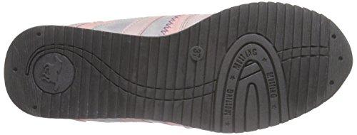 Mustang 5039-401 - Zapatillas de deporte Unisex Niños Rojo - Rouge (555 rose)