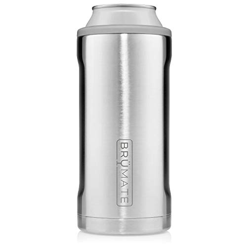 BrüMate Hopsulator Juggernaut Double-walled Stainless Steel Insulated Can Cooler For 24 Oz And 25 Oz Cans (Stainless) ()
