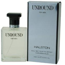 Halston Unbound Cologne for Men 3.4 Oz Eau De Toilette Spray