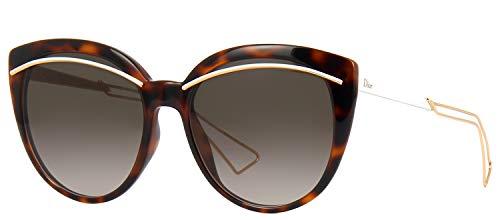 Christian Dior Diorliner Sunglasses Havana Rose Gold / Brown ()