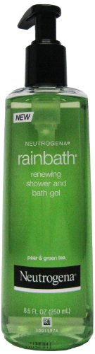 Neutrogena Rainbath Renewing Shower and Bath Gel, Pear and Green Tea, 8.5 Ounce (Pack of 2)