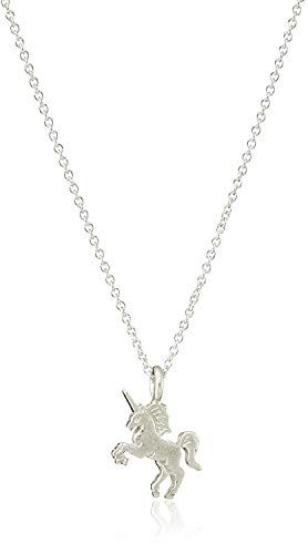 Wish Necklace Dogeared Make A (Dogeared Life is Magical Unicorn Necklace, Sterling Silver)