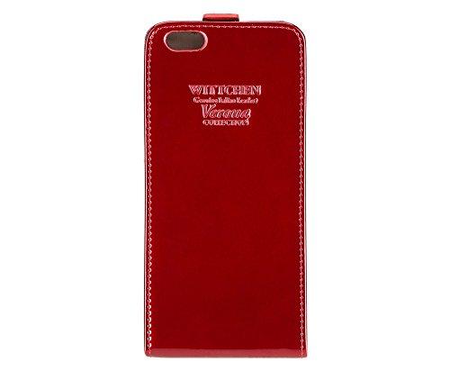 502 x 3 Verona Cuir Taille Rouge Couleur Rouge 25 cm Wittchen 16 Cas Collection 8 verni 2 Matériel 5 8IOWqawxT