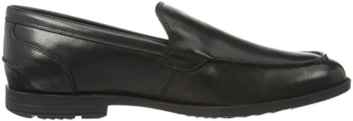Mocassini Uomo Road Venetian Global Nero Black Rockport qtvIU1