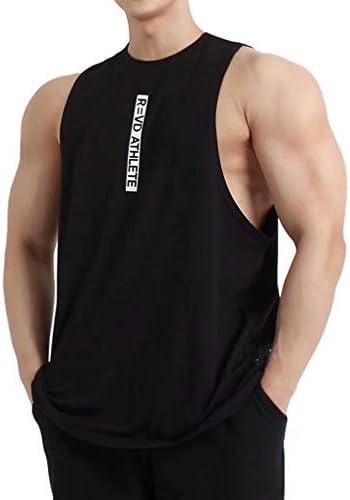 タンクトップ メンズ トレーニング ノースリーブ スポーツウェア 筋トレ Tシャツ ランニング トップス 3色