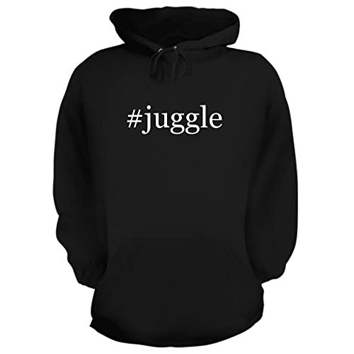 Ring Glow Desert (BH Cool Designs #Juggle - Graphic Hoodie Sweatshirt, Black, Small)