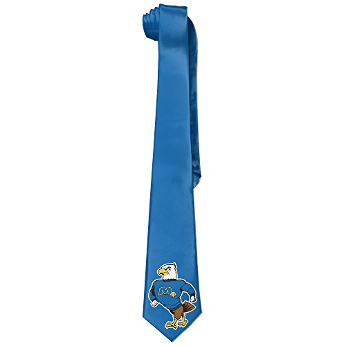 State University Necktie - ONESEDA Men's Morehead State Eagles Tie Necktie Ties