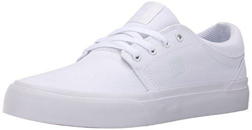DC Shoes Mens Shoes Trase Tx - Low Shoes - Unisex - US 13 - White White US 13 / UK 12 / EU 47