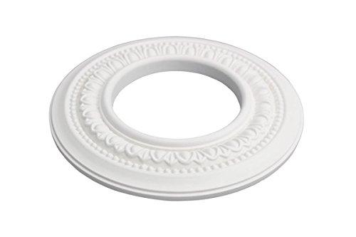 (Spot Light Ring Trim White Ceiling Medallion Urethane Foam Recessed Light Trim 4 Inner Diameter | Renovator's Supply)