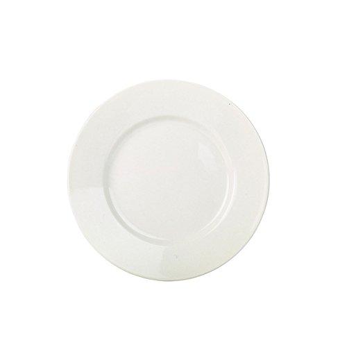 Pack de 6 23/cm Nextday Catering Equipment Supplies nev-bpl23/RG vajilla placa de borde ancho