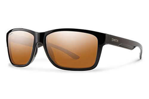 (Smith Optics Drake Sunglasses, Black, Polarchromic Copper Mirror)