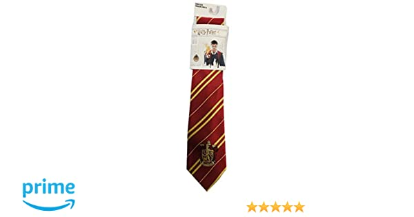 Sabor Corbata Adulto Casa Gryffindor con Emblema Original 140 cm ...