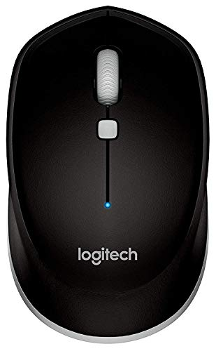 Logitech M535 Bluetooth Mouse - Compact Wireless Mouse with 10 Month Battery Life works with any Bluetooth Enabled Computer, Laptop or Tablet running Windows, Mac OS, Chrome or Android, Gray