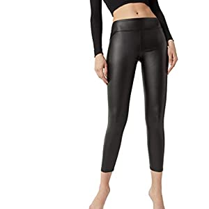 CALZEDONIA Femme Legging effet cuir