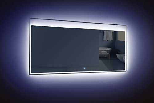 Ove Decors Villon Led Bathroom Mirror: LAVANITY 55 INCH WALL MOUNTED BATHROOM MIRROR WITH LED