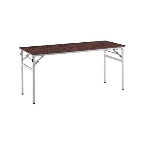 コクヨ(KOKUYO) ミーティングテーブル フォールディングテーブル KT-220 W1500×D600×H700mm KT-224 ブラウン B07653M8HT ブラウン ブラウン