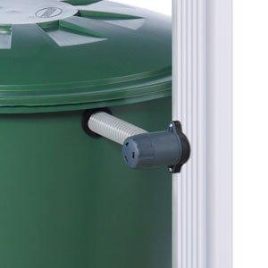 Graf Mondo 137 Gallon Rain Barrel with Stand and Quattro Filter