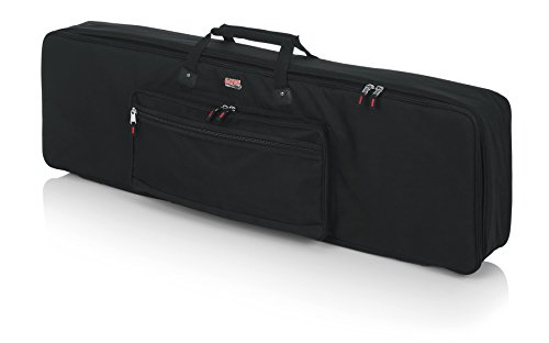 Gator Cases Padded Keyboard Gig Bag; Fits Slim Line 88 Note Keyboards (GKB-88 SLIM)