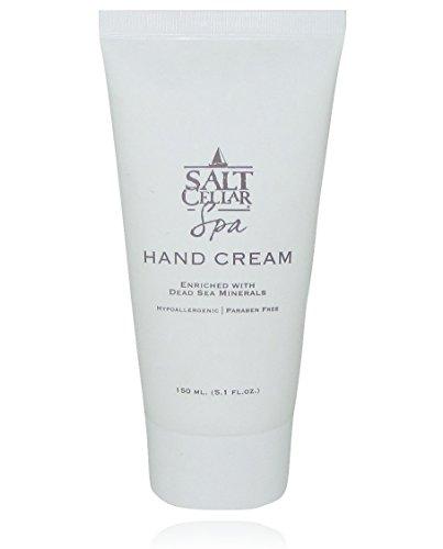 Salt Cellar Spa Dead Sea Hand Cream Enriched With Glycerine, Olive Oil & Dead Sea Minerals (Salt Hours Cellar)