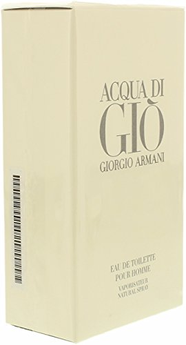 Acqua Di Gio By Giorgio Armani For Men. Eau De Toilette Spray