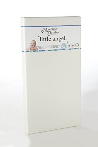 Moonlight Slumber - Little Angel Single Firmness All Foam Crib Mattress