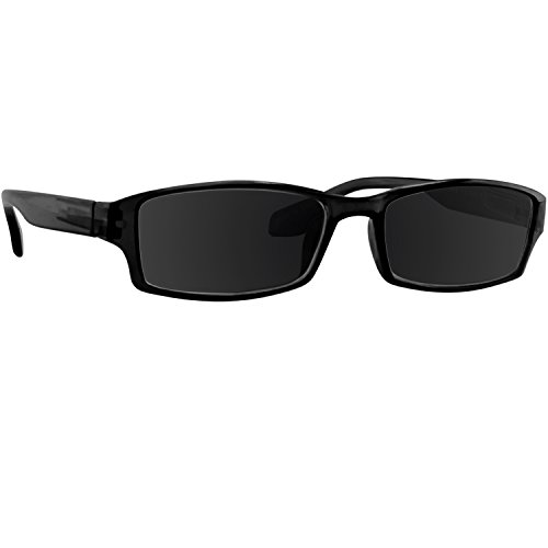 Reading SunGlasses Black Men and Women _ Have a Stylish Look and Crystal Clear Vision When You Need It! _ Comfort Spring Arms & Dura-Tight Screws _ 100% Guarantee - Need Sunglasses