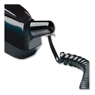 Twisstop Rotating Phone Cord Detangler, Black (4 Pack)